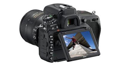 Nikon D750 tilt lcd